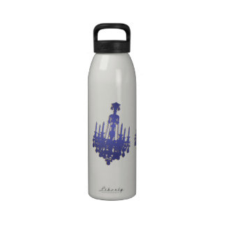 Gráfico de la lámpara botellas de beber