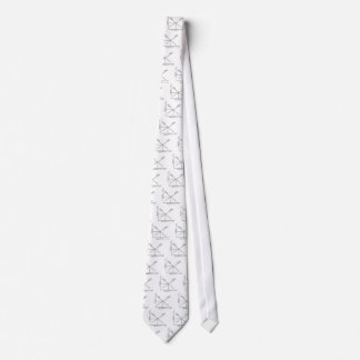 Gráfico de la oferta y de la demanda corbata personalizada