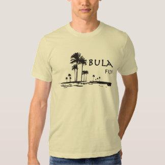 Gráfico de la palmera de Bula Fiji Camisas