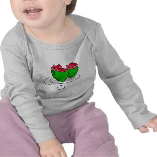 gráfico de la pimienta rellena camiseta