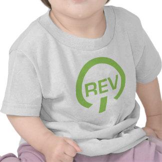 Gráfico de la revolución camiseta