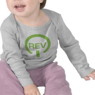 Gráfico de la revolución camisetas