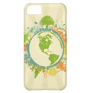 Gráfico de la tierra funda para iPhone 5C