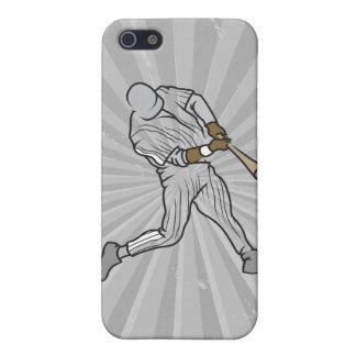 gráfico de las azufaifas del béisbol iPhone 5 fundas