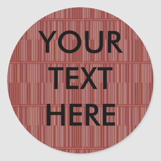 Gráfico de madera personalizado del piso del pegatinas redondas