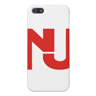 Gráfico de NJ rojo iPhone 5 Cobertura