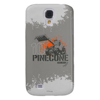 Gráfico de Pinecone Funda Para Galaxy S4