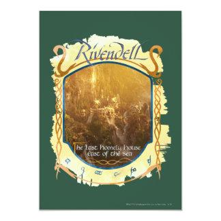 """Gráfico de Rivendell Invitación 5"""" X 7"""""""