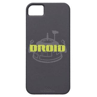 Gráfico de Star Wars Droid Funda Para iPhone SE/5/5s