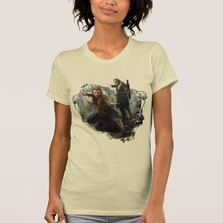 Gráfico de TAURIEL™ y de LEGOLAS GREENLEAF™ Camisetas