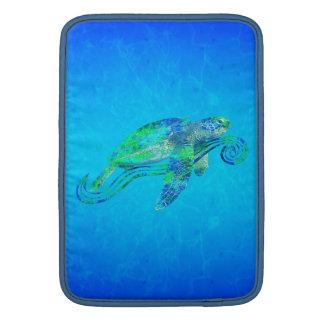 Gráfico de tortuga de mar funda para macbook air