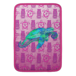 Gráfico de tortuga de mar fundas macbook air
