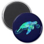 Gráfico de tortuga de mar iman para frigorífico