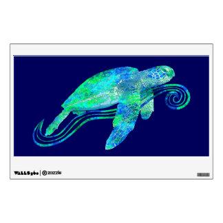 Gráfico de tortuga de mar vinilo adhesivo