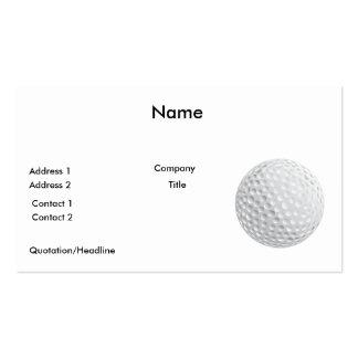 gráfico de vector de la pelota de golf
