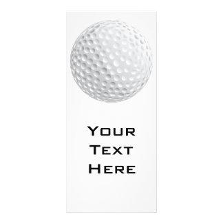 gráfico de vector de la pelota de golf lona publicitaria