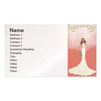 Gráfico de vector del boda 18 tarjeta de negocio