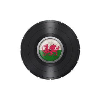 Gráfico del álbum de disco de vinilo de la bandera latas de caramelos