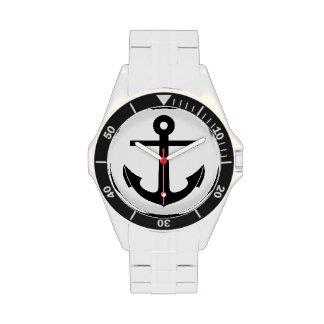 Gráfico del ancla a personalizar relojes