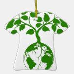 Gráfico del árbol de la tierra ornamente de reyes