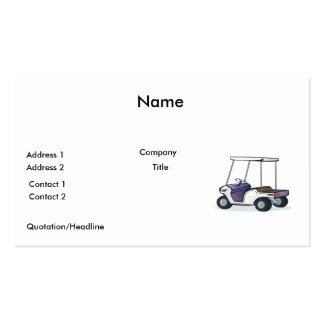 gráfico del carro de golf