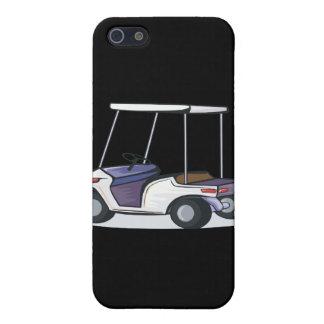 gráfico del carro de golf iPhone 5 cárcasas
