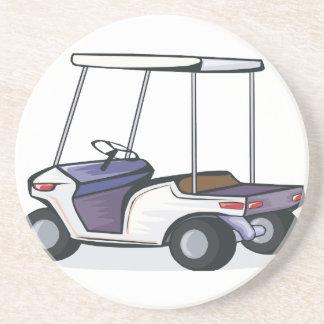 gráfico del carro de golf posavasos para bebidas