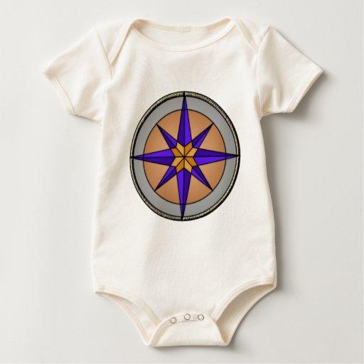 Gráfico del compás body para bebé