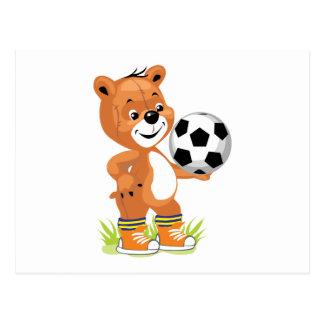 gráfico del dibujo animado del oso de peluche del postales