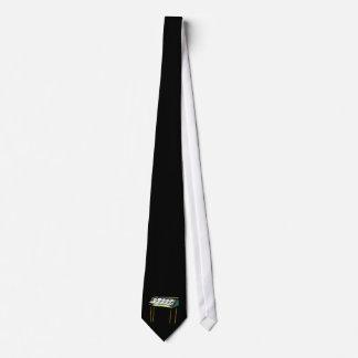 Gráfico del diseño del piano del órgano eléctrico  corbata personalizada
