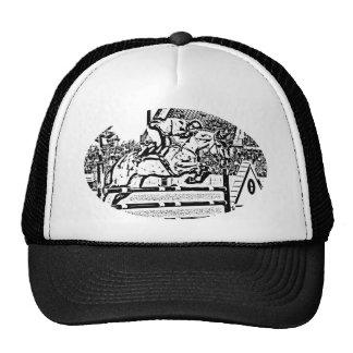 Gráfico del Equestrian del puente del cazador Gorras