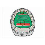 gráfico del estadio de fútbol postal