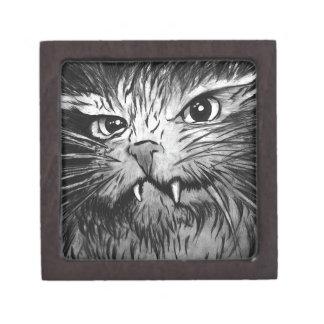 Gráfico del gato cajas de joyas de calidad