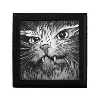 Gráfico del gato caja de joyas