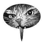 Gráfico del gato figuras de tarta