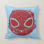 Gráfico del Grunge de Chibi Spider-Man Cojin