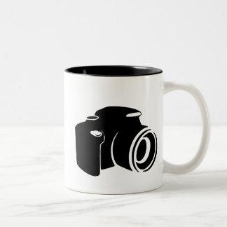 Gráfico del icono de la fan de la fotografía del a tazas
