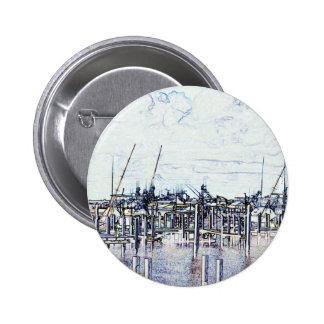 Gráfico del puerto deportivo de la Florida con los Pin Redondo 5 Cm