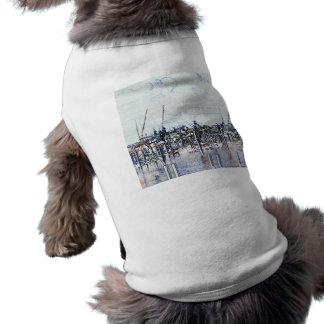 Gráfico del puerto deportivo de la Florida con los Camisetas De Perrito