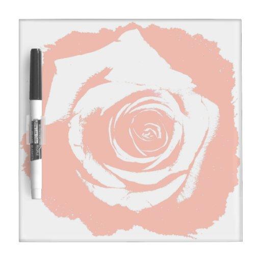 Gráfico del rosa rojo pizarras