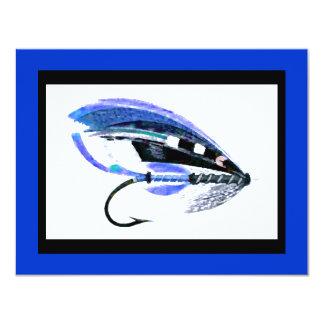 Gráfico del señuelo de la pesca con mosca comunicados personalizados