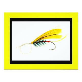 Gráfico del señuelo de la pesca con mosca comunicados