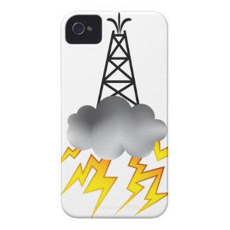 Gráfico del símbolo de la plataforma petrolera de Case-Mate iPhone 4 cobertura
