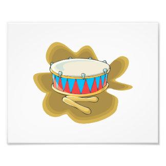 Gráfico del tambor y de la percusión de los mazos fotografias