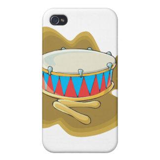 Gráfico del tambor y de la percusión de los mazos iPhone 4/4S carcasas