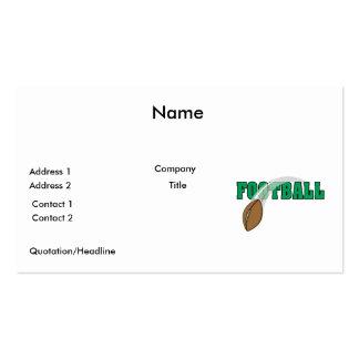 gráfico del texto de la bola de la redada del tarjetas de visita