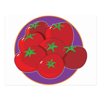 Gráfico del tomate tarjetas postales