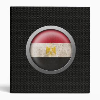 Gráfico egipcio del disco de la bandera de la mall