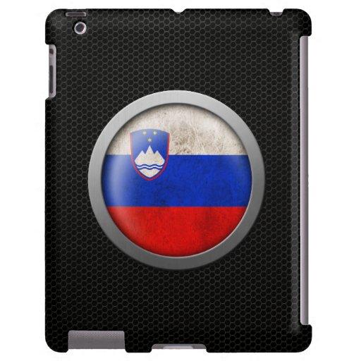 Gráfico esloveno del disco de la bandera de la mal funda para iPad