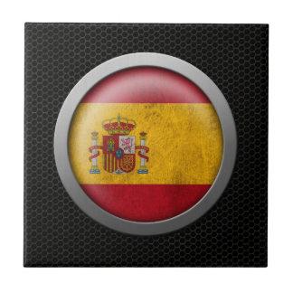 Gráfico español del disco de la bandera de la mall tejas  ceramicas